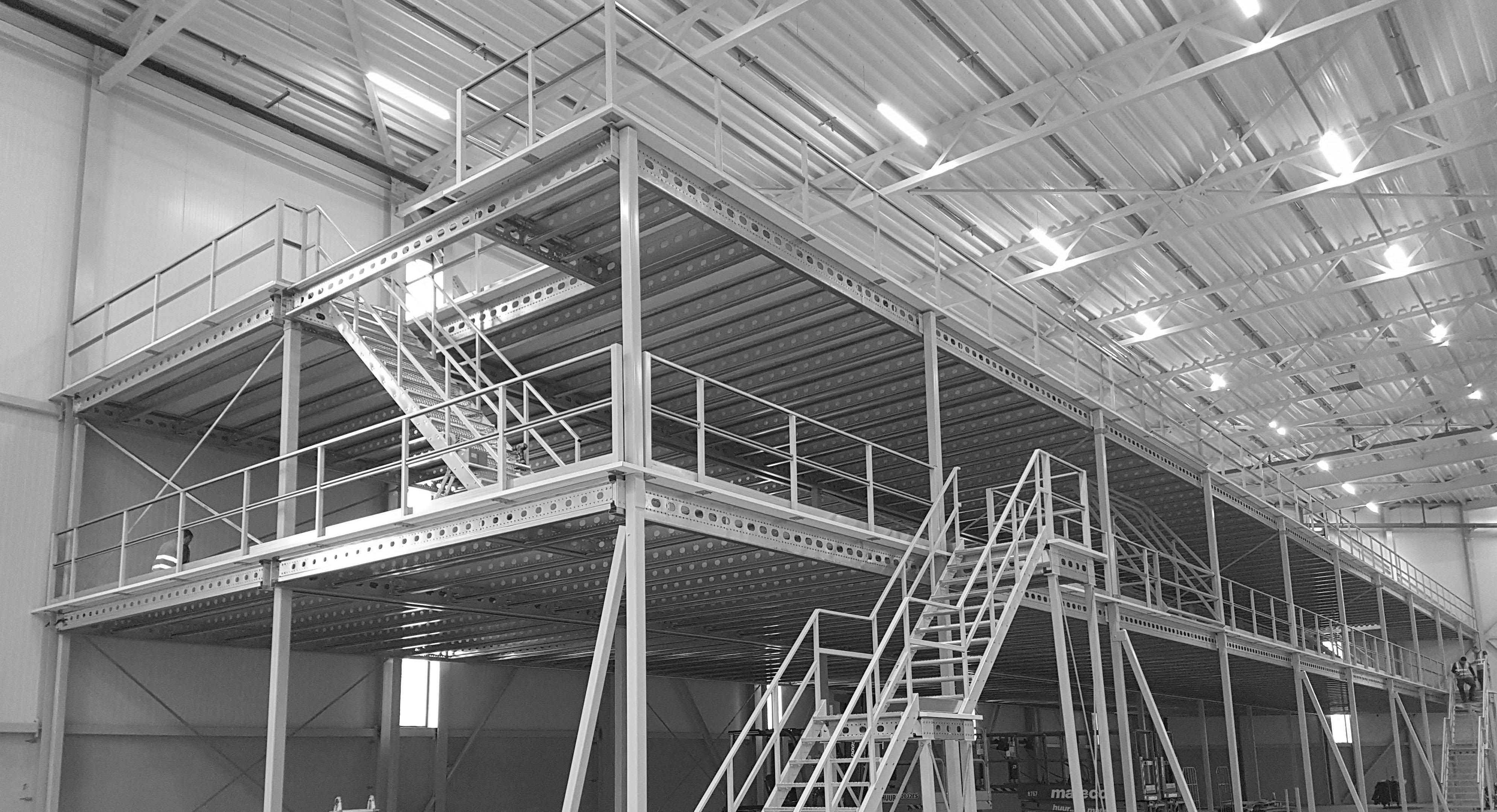 Industrial mezzanine floor   Profielnorm