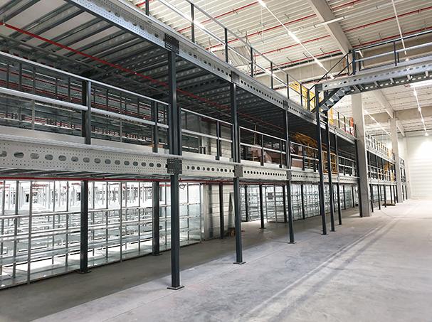 Warehouse mezzanine floor   Profielnorm